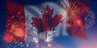 加拿⼤國慶 同樂⽇