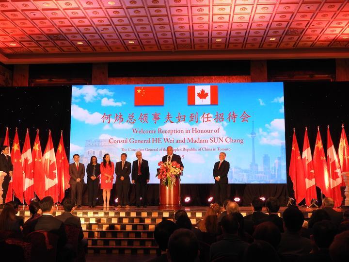 驻多伦多总领事何炜:续中加务实佳话 惠两国人民发展